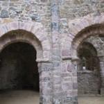 Temple de Lanleff : colonnes