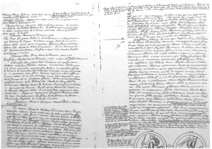 Charte de donation rédigée par HENRI, comte du Goëlo, en 1148